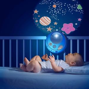 veilleuse bébé projection mouvement