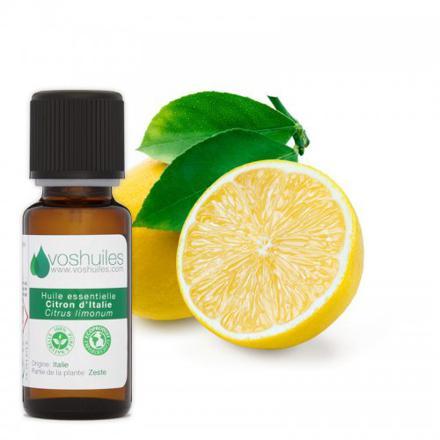 vertu huile essentielle citron