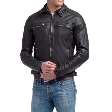 veste cuir kaporal homme