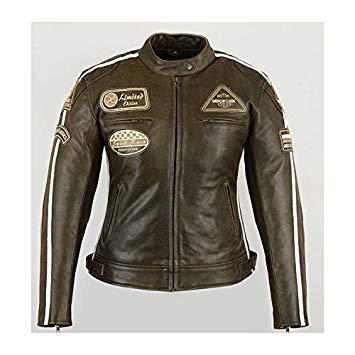 veste de moto femme