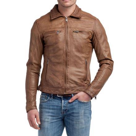 veste en cuir kaporal