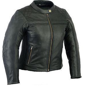 veste moto femme