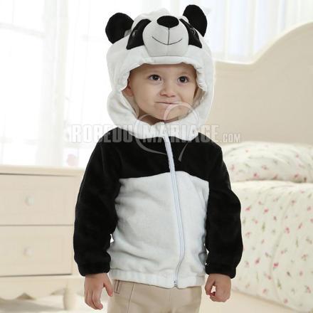 veste panda enfant