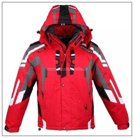 veste ski homme rouge