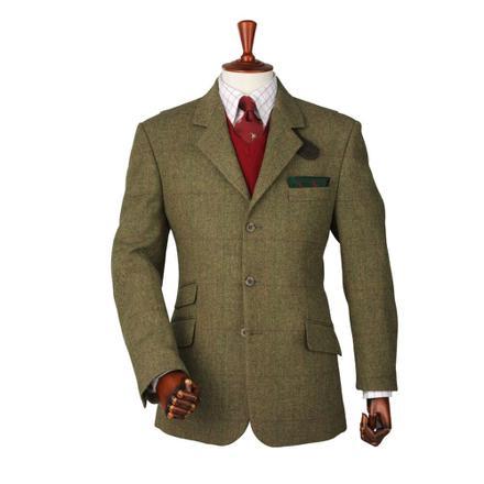 veste tweed chasse