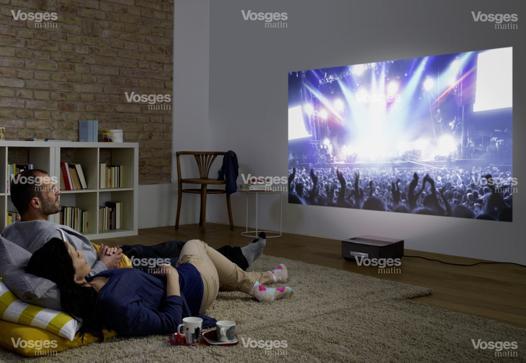 video projecteur cinema maison