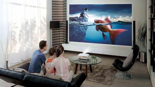 vidéoprojecteur pour regarder la tv
