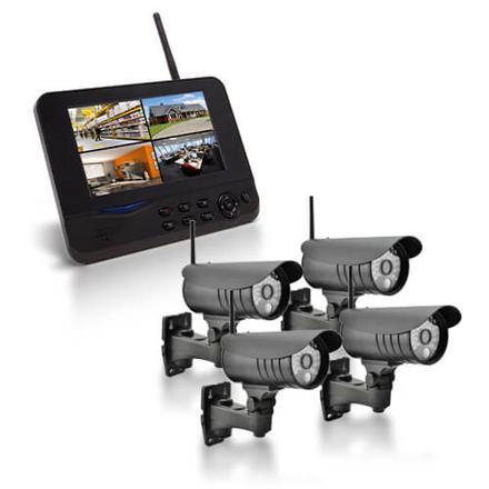 vidéosurveillance sans fil avec enregistrement