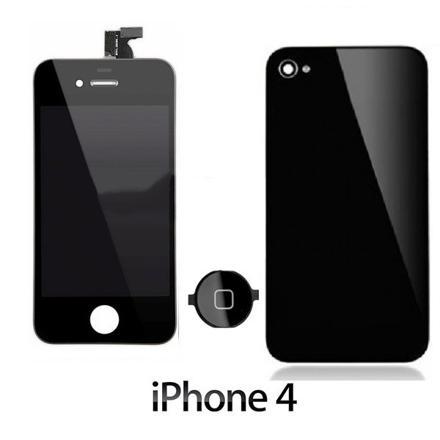 vitre avant iphone 4 noir
