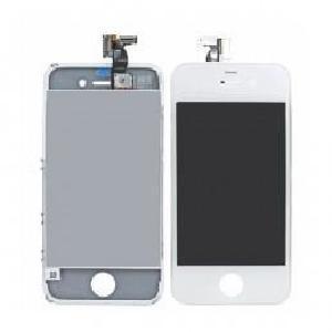 vitre avant iphone 4s blanc