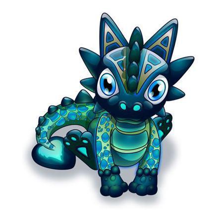 vrai bébé dragon mignon