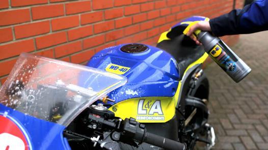 wd 40 moto
