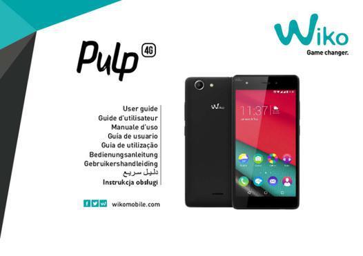 wiko pulp 4g notice