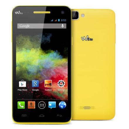 wiko rainbow jaune