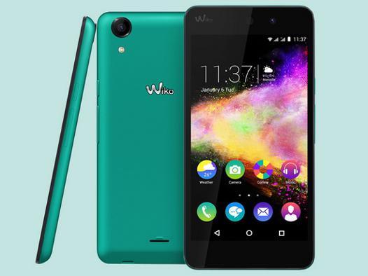 wiko rainbow smartphone