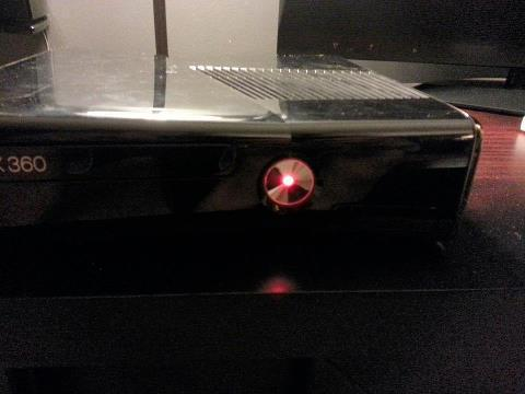 xbox 360 lumiere rouge